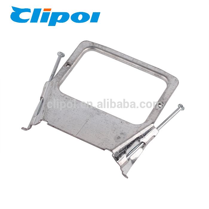 Mounting brackets horizontal Pre-Nailed stud plaster bracket for AU