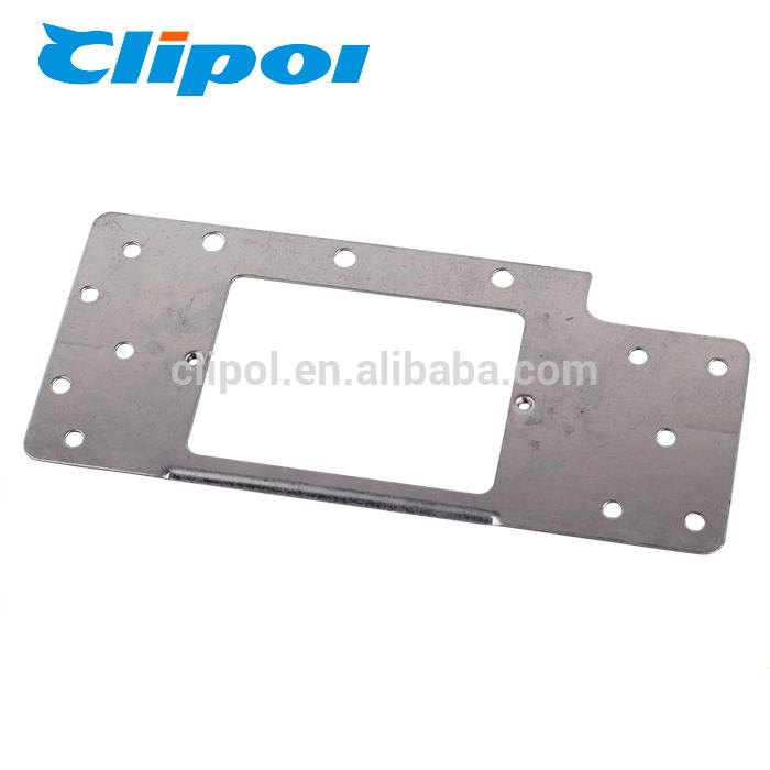 Metal bracket Horizontal industrial wall mount metal corner bracket for switch