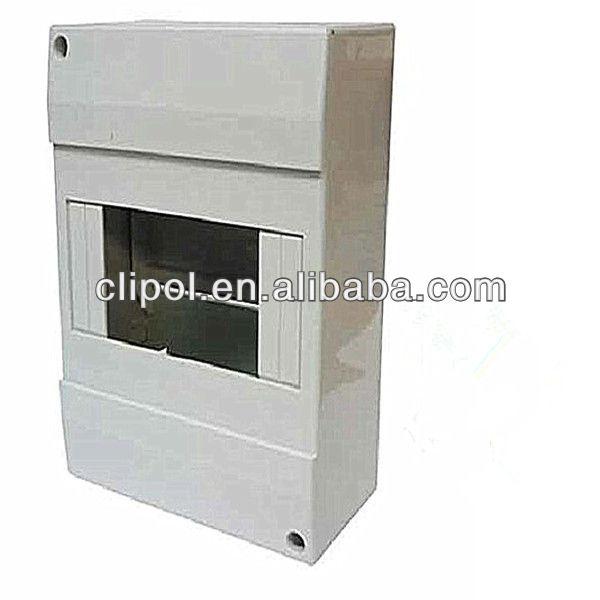 OEM Customized Deep Mounting Block For Socket - 6 Way Indoor MCB Enclosure Distribution Box – Clipol