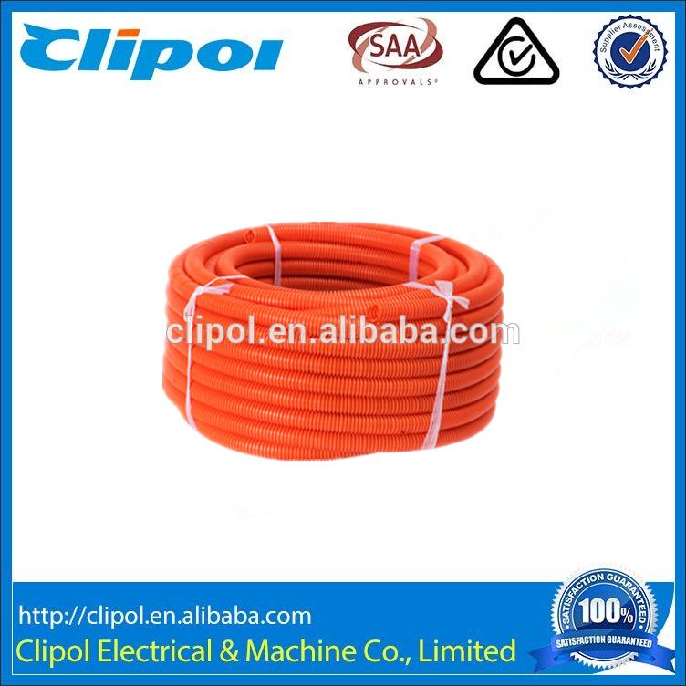 High quality 50mm PVC corrugated conduit Heavy Duty