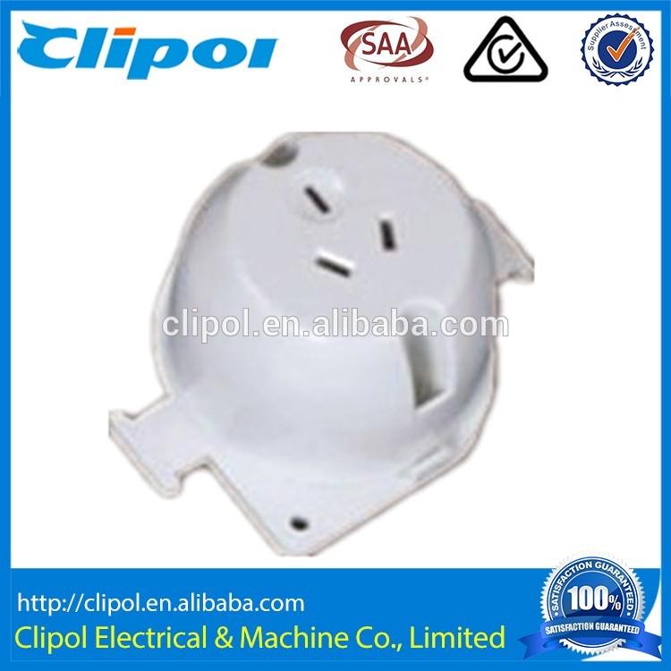 SS110N PC body 3Pin 250V 10A SAA single plug base ceiling light base