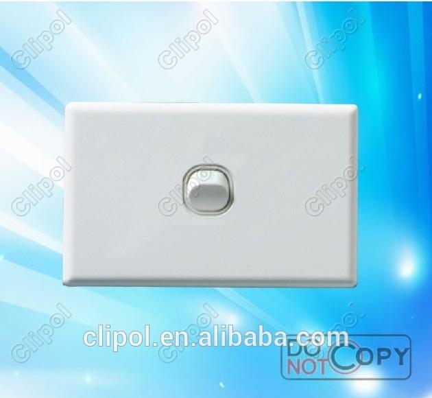 220V new style Australia standard wall Switch single gang light switch
