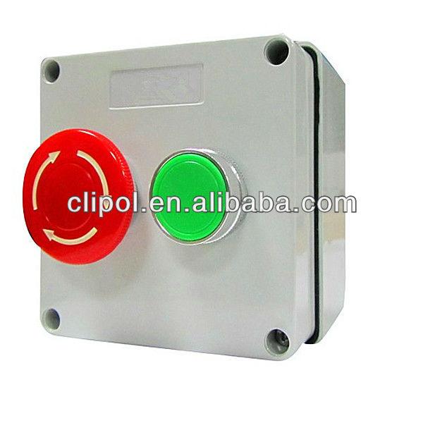 IP56 بوټ SAA تصویب استراليا معياري Pushbutton کنټرول Switches